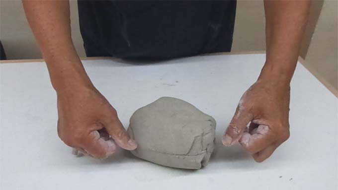 Ceramic Dictionary - by Susan Mussi: CLAY (1) Kneading.
